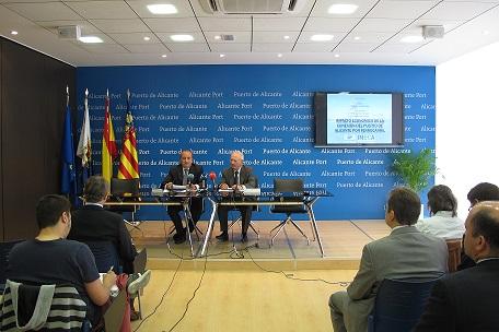 Ripoll y Rocamora en la presentación del estudio