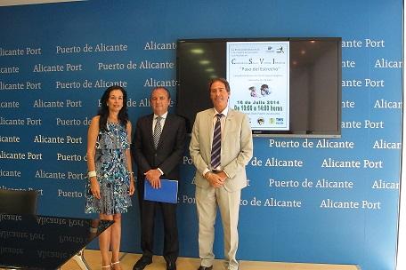 Ripoll y López en el acto de presentación de la campaña