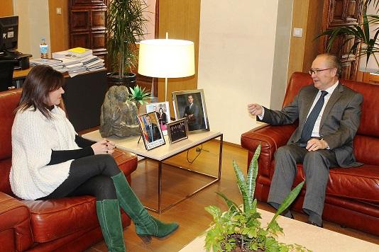 Ferrer y Alonso durante su encuentro