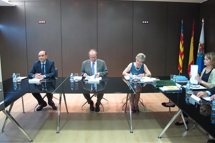 Ferrer y Echávarri en el consejo de Administración