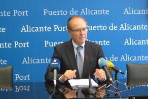 Juan Ferrer, presidente del Puerto de Alicante