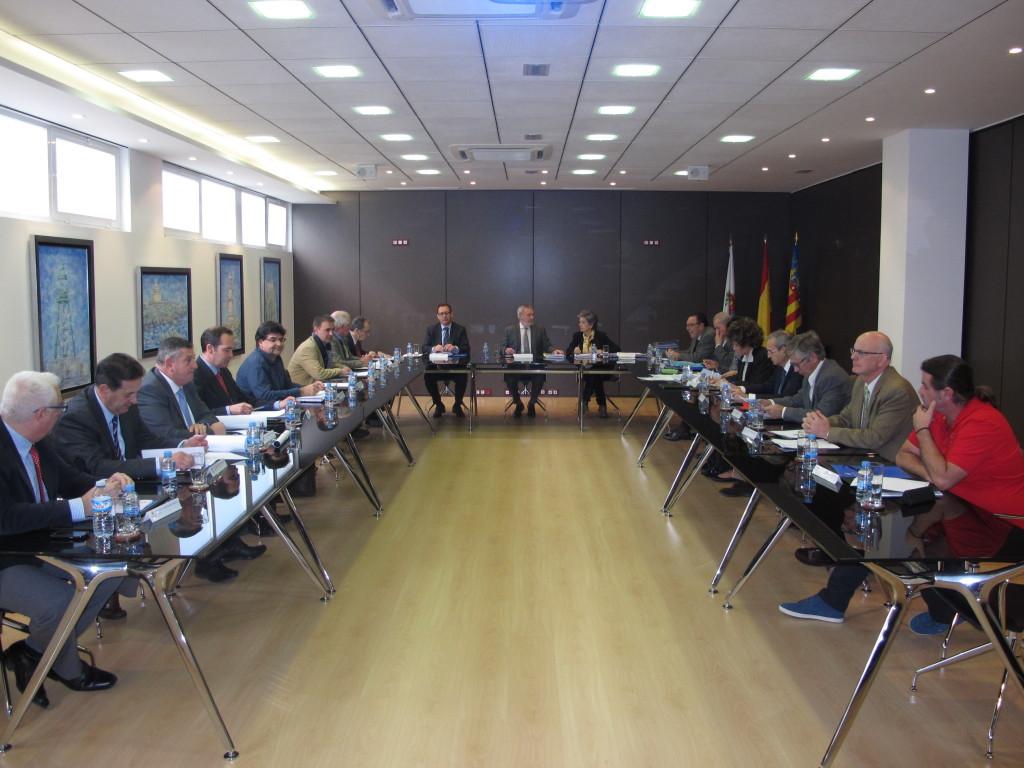 Panorámica del consejo de administración