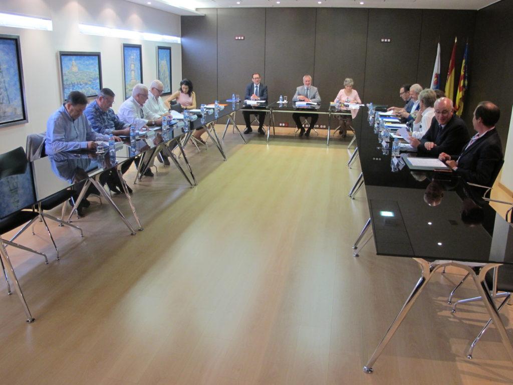 Sesión del consejo de administración de hoy