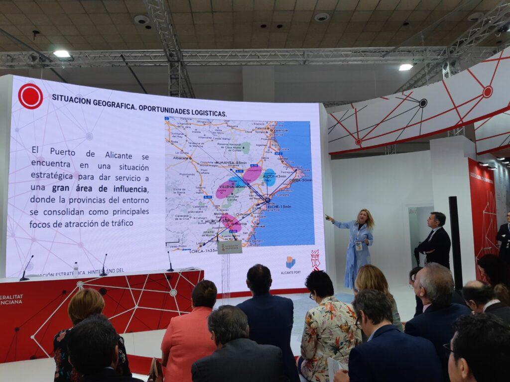 Presentación del Puerto de Alicante en el SIL Barcelona 2018
